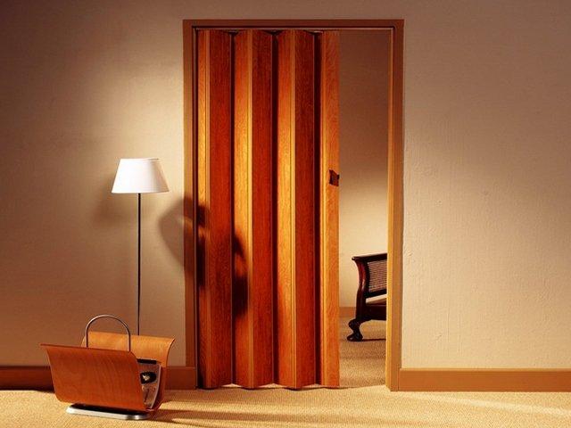 Двери межкомнатные «гармошка» – лучший способ сэкономить свободное пространство