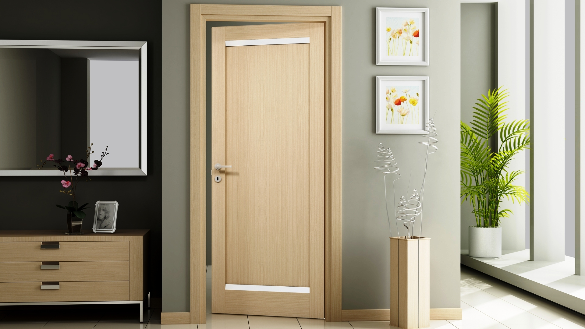 Итальянские межкомнатные двери: высокое качество и изящный внешний вид