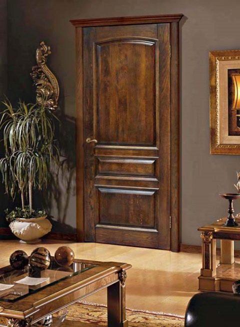 Межкомнатные двери из натурального дерева: 5 способов профессионального декора