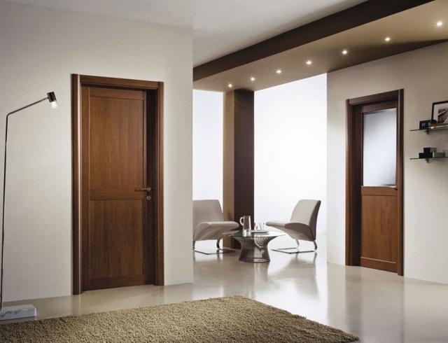 Двери межкомнатные в интерьере – самые стильные варианты