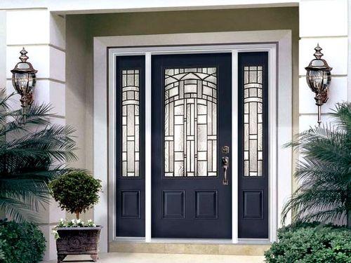 Двери входные уличные: выбираем надежное изделие для частного дома