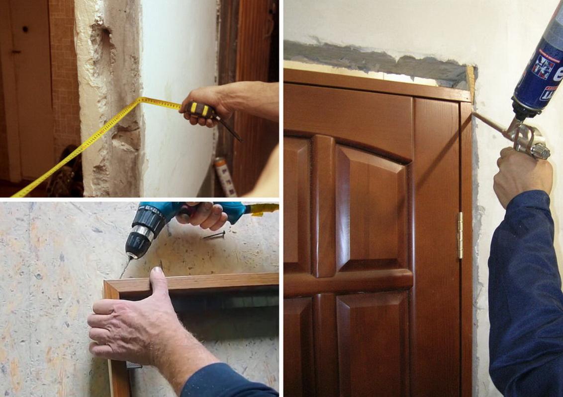 Как правильно установить межкомнатные двери?
