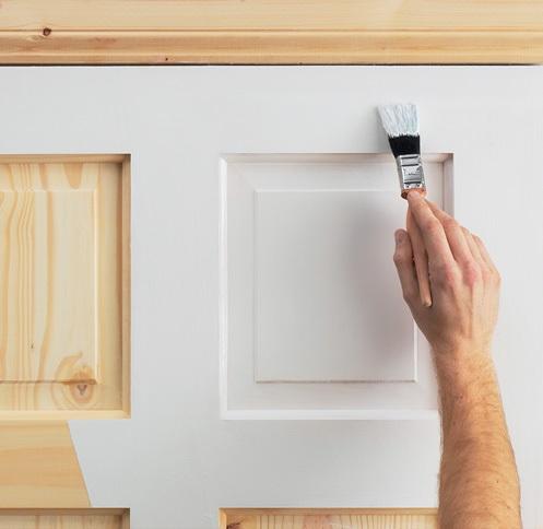 Как покрасить белые межкомнатные двери?