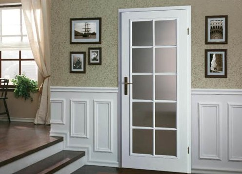 Межкомнатные двери в стиле «Прованс» – изящество французского дома с нотками деревенской простоты
