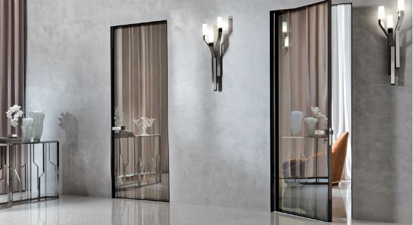 Новое – это хорошо забытое старое: межкомнатные двери со вставками из стекла