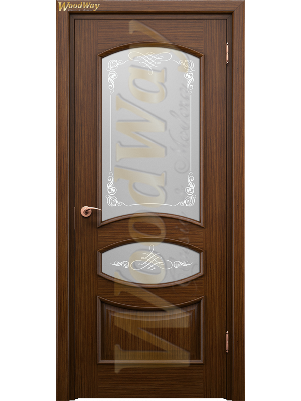 Корсика 2 - Межкомнатные двери, Шпонированные двери