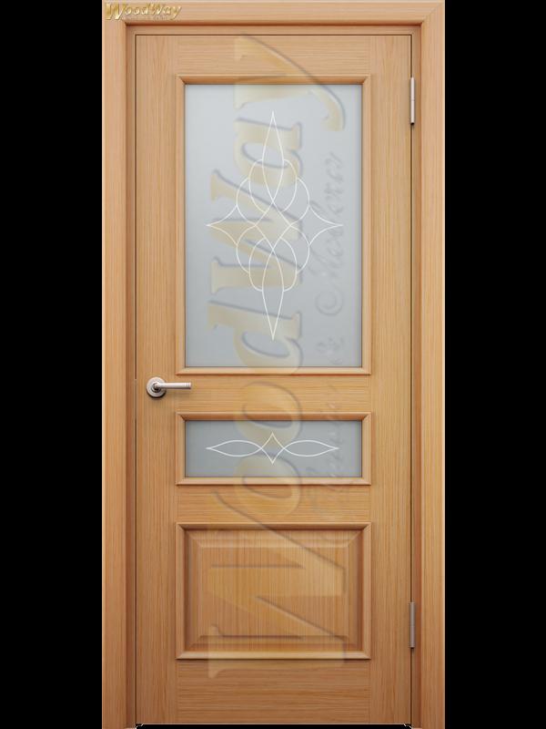 Лион 2 - Межкомнатные двери, Шпонированные двери