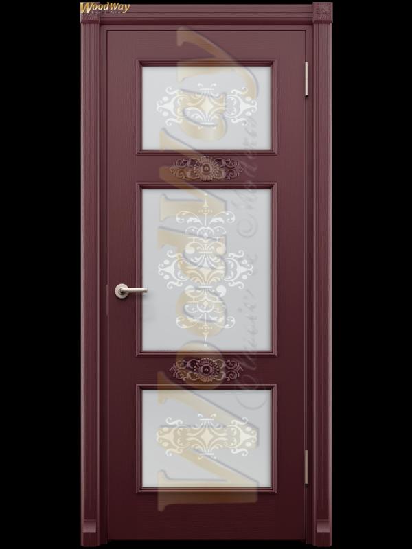 Камелия 3 - Межкомнатные двери, Шпонированные двери