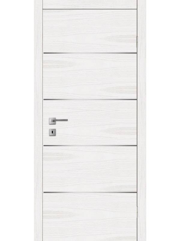 F 3 - Межкомнатные двери, Белые двери шпонированные