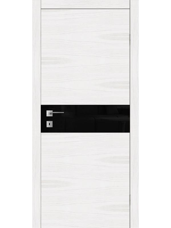 F 17 - Межкомнатные двери, Белые двери шпонированные