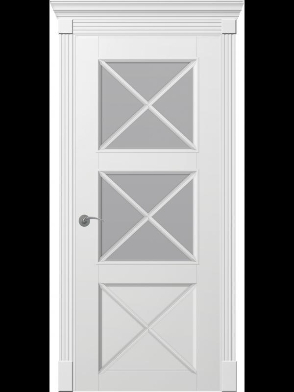 Рим Итальяно ПО - Межкомнатные двери, Белые двери