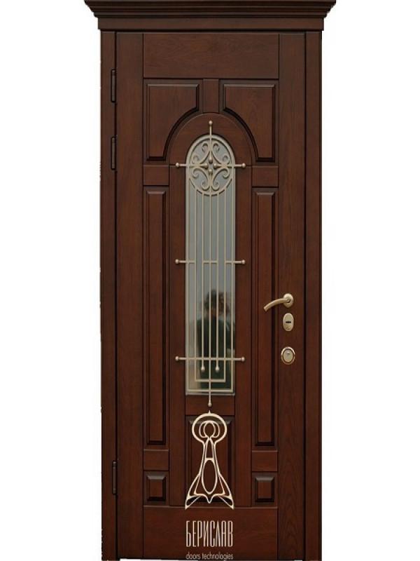 Берсилав Русь со стеклопакетом Дуб М-4 - Входные двери, Входные двери в дом