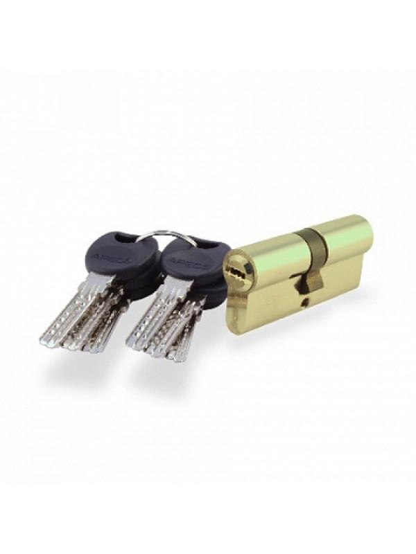 Цилиндр 4  KC-M100-Z-G (ключ / ключ) - Фурнитура