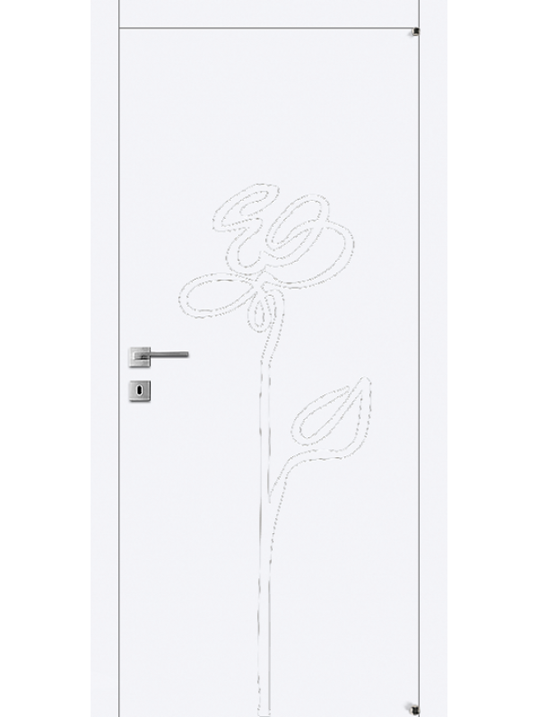 FL3 - Межкомнатные двери, Белые двери