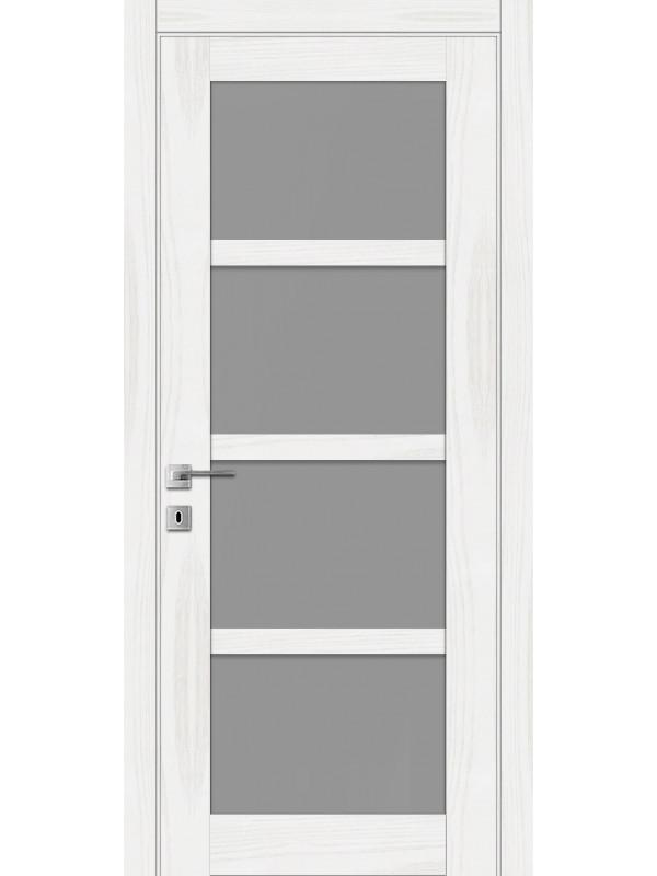 L-4 - Межкомнатные двери, Белые двери шпонированные