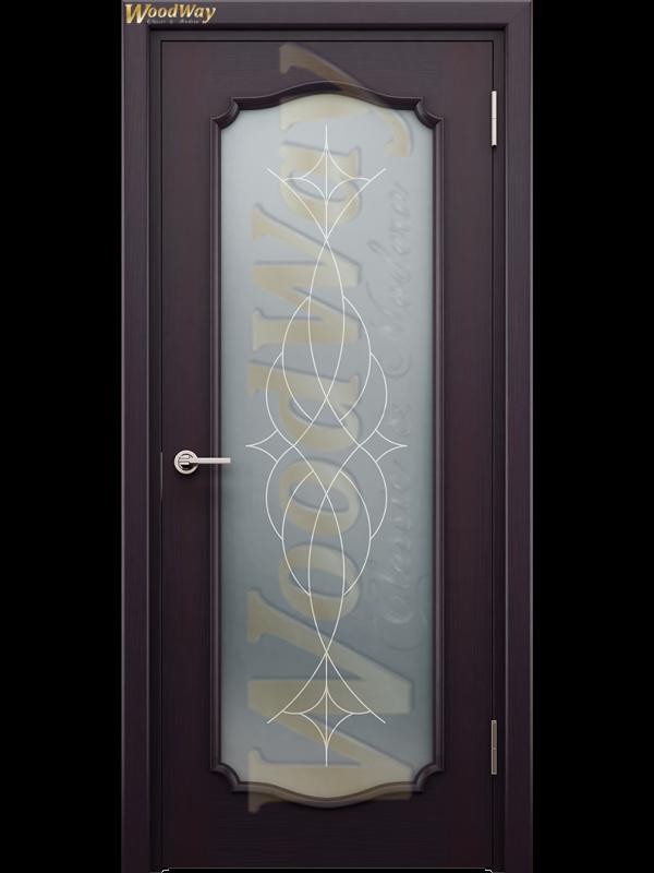 Наполи 12 - Межкомнатные двери, Шпонированные двери