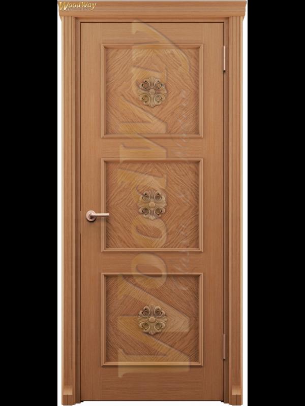 Орхидея 1 - Межкомнатные двери, Шпонированные двери