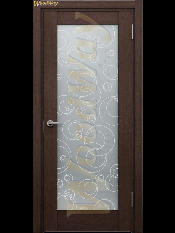 Клер 2 - Межкомнатные двери, Шпонированные двери