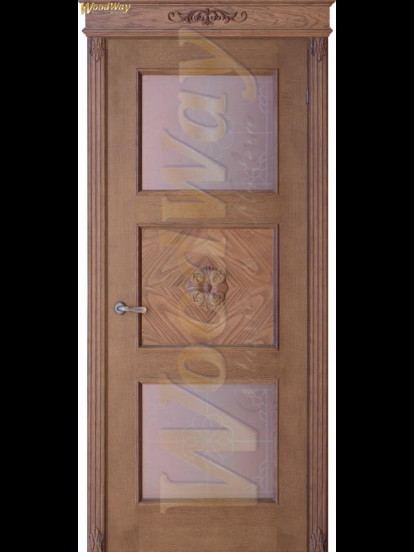 Орхидея 2 - Межкомнатные двери, Шпонированные двери