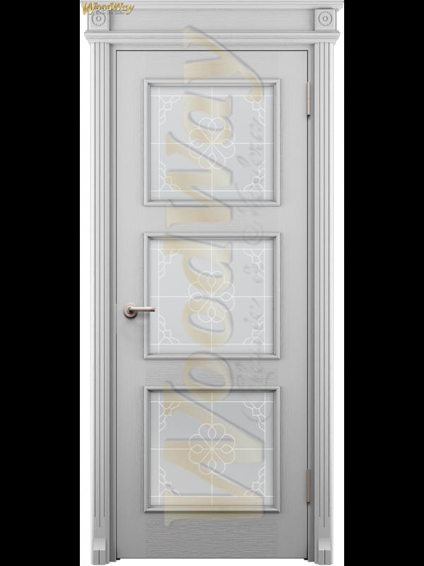 Орхидея 3 - Межкомнатные двери, Шпонированные двери