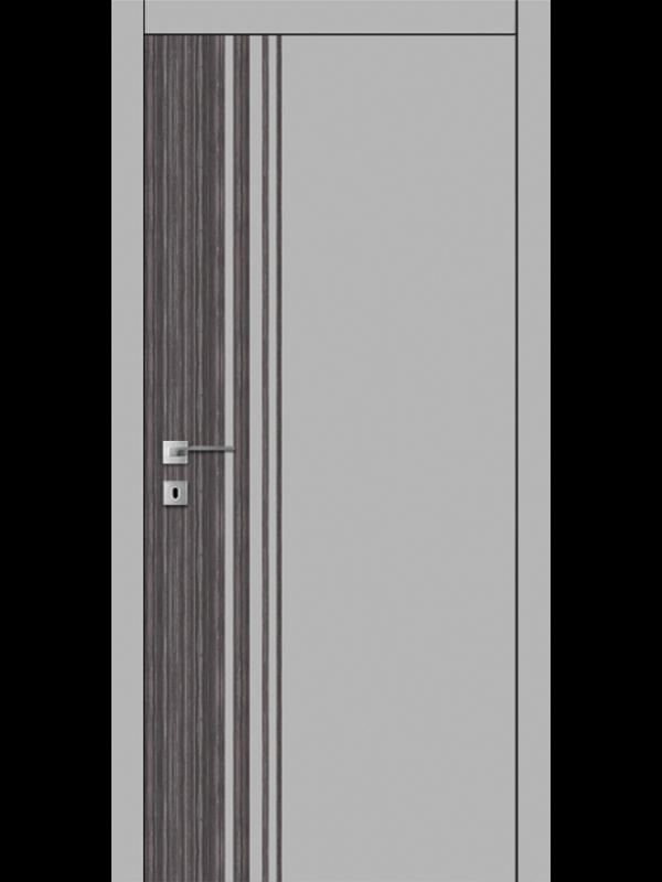 FТ.22.S со стекл.  краш.по RAL (белое) с худ.рис. - Межкомнатные двери, Окрашенные двери