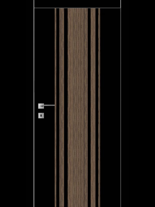 FТ.23.S со стекл.  краш.по RAL (белое) с худ.рис. - Межкомнатные двери, Окрашенные двери