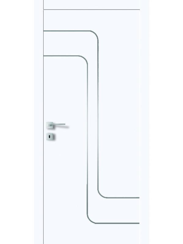 FT5.M - Межкомнатные двери, Белые двери