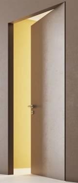 SECRET DOORS алюминиевое  полотно внутреннего открывания