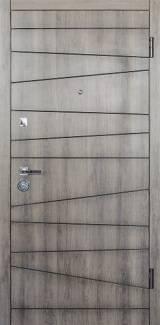 Conex мод 74 дуб орион/внутри 74 супермат белый - Входные двери, Входные двери в квартиру