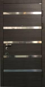 CONEX мод 75 Венге темный горизонт + молдинг - Входные двери