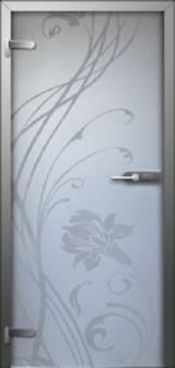 Inter Vetro Лилия - Межкомнатные двери, Стеклянные двери