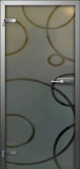 Inter Vetro Ромбы - Межкомнатные двери, Стеклянные двери