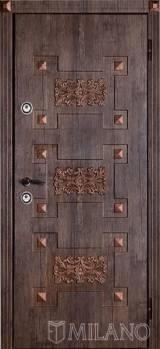 Милано Art1 - Входные двери, Milano - купить входные металлические двери Киев