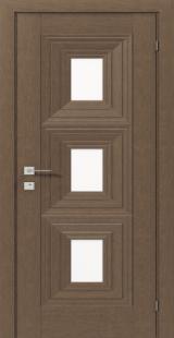 BERITA со стеклом - Межкомнатные двери, Rodos - ламинированные двери, Киев