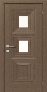 BERITA с 2 стеклами - Межкомнатные двери, Rodos - ламинированные двери, Киев