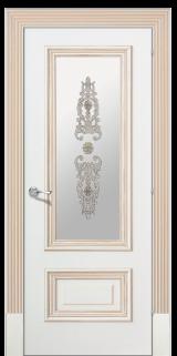 Доже 1 со стеклом  - Межкомнатные двери, Халес - окрашенные межкомнатные двери, цена