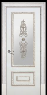 Доже 2 со стеклом - Межкомнатные двери, Халес - окрашенные межкомнатные двери, цена