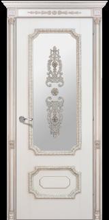 Доже 3 со стеклом - Межкомнатные двери, Халес - окрашенные межкомнатные двери, цена