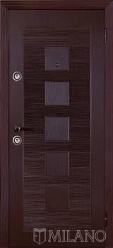 Милано Дюна квадрат - Входные двери, Milano - купить входные металлические двери Киев