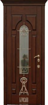 Берсилав Русь со стеклопакетом Дуб М-4 - Берислав - двери входные в Киеве