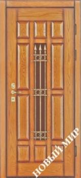 Новый мир Антика - Входные двери, Новый Мир - входные двери для дачи