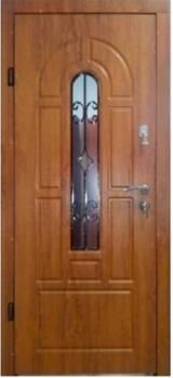 Арка с ковкой и притвором Эконом улица  - Входные двери, Форт - входные двери частный дом