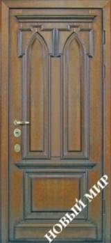 Новый мир Готика - Входные двери, Новый Мир - входные двери для дачи