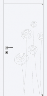 FL6 - Межкомнатные двери, Белые двери