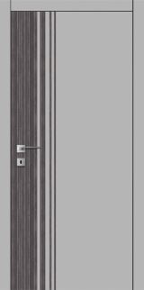 FТ.22.S со стекл.  краш.по RAL (белое) с худ.рис. - Межкомнатные двери, Крашенные двери