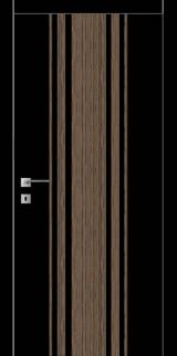 FТ.23.S со стекл.  краш.по RAL (белое) с худ.рис. - Межкомнатные двери, Крашенные двери