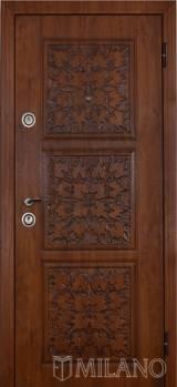 Милано Лист - Входные двери, Milano - купить входные металлические двери Киев