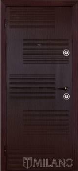 Милано Полоски - Входные двери, Milano - двери в квартиру