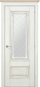 Ромула 1 со стеклом - Межкомнатные двери, Халес - двери шпонированные Киев