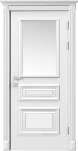 ROSSI со стеклом - Межкомнатные двери, Rodos - двери белые межкомнатные Киев